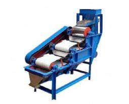 Dry powder magnetic permanent drum magnetic separator