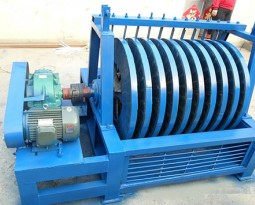 Disc-type tailing recycling machine