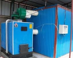 Metallic wood dryer