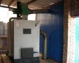 Plant coal stove