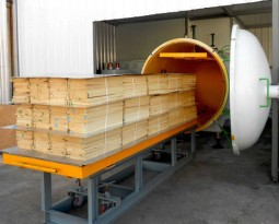 High-frequency wood dryer