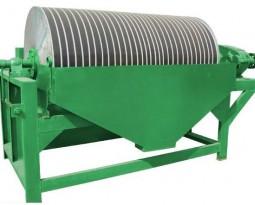 Permanent drum magnetic separator