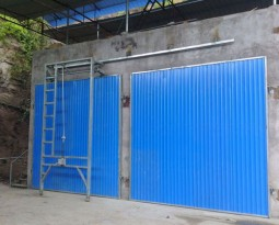 Anti-corrosive wood drying equipment